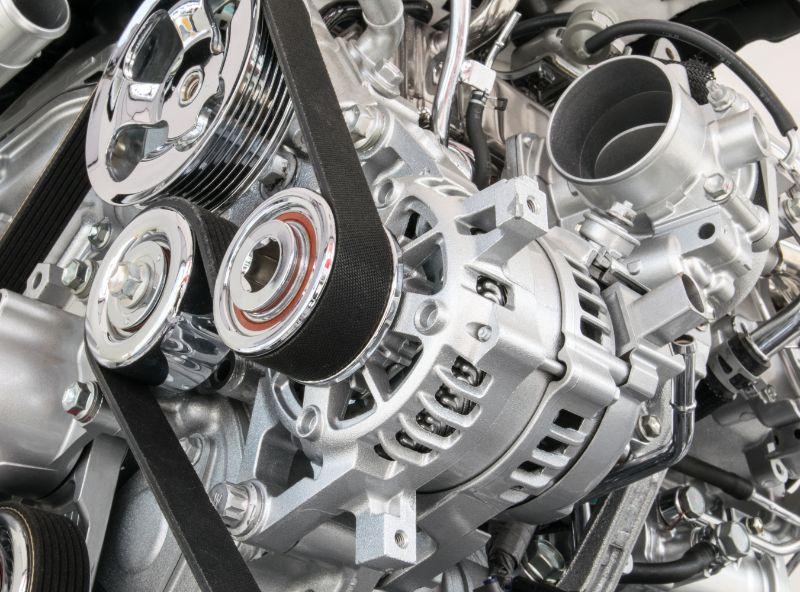 Engine Closeup