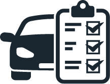 car checklist icon
